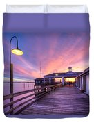 Harbor Lights Duvet Cover