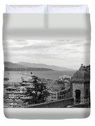 Harbor Lookout - Monte Carlo Duvet Cover