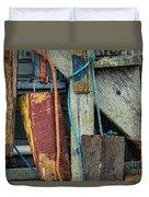 Harbor Shanty Duvet Cover