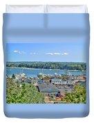 Harbor Springs Michigan Duvet Cover