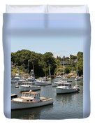 Harbor Views Duvet Cover