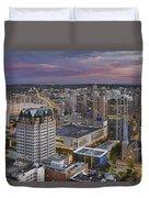Harbour Center Lookout Vancouver Bc Duvet Cover