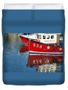 Harbour Reds Duvet Cover