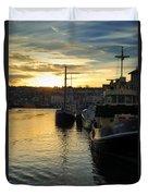 Harbour Sunset Duvet Cover