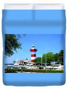Harbour Town Lighthouse Duvet Cover