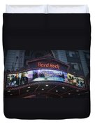 Hard Rock Marquee Nyc Duvet Cover