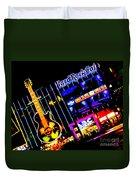 Hard Rock Vegas Duvet Cover