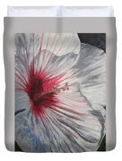 Hardy Hibiscus Duvet Cover