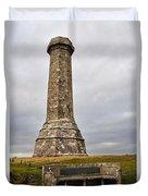Hardy Monument Duvet Cover