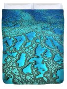 Hardy Reef On The Great Barrier Reef Marine Duvet Cover