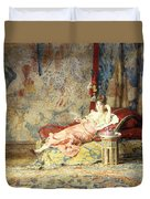 Harem Beauty Duvet Cover