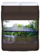Hares Hill Road Bridge Duvet Cover