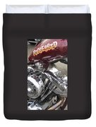 Harley Close-up Possessed Duvet Cover