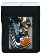 Harley Close-up Tail Light Duvet Cover