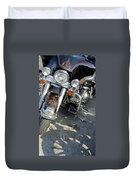 Harley Close-up W Shadow 1 Duvet Cover