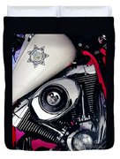 Harley Cop 2 Duvet Cover