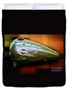 Harley-davidson Tank Logo Duvet Cover