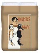 Harper's, 1897 Duvet Cover
