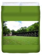 Harpers Ferry Hardware And Railroad Duvet Cover