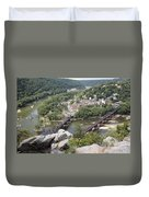 Harpers Ferry Viewed From Maryland Heights Duvet Cover
