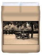 Harpers Ferry Wagon Duvet Cover
