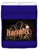 Harrahs - Las Vegas Duvet Cover