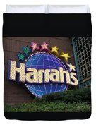 Harrahs Of New Orleans Duvet Cover