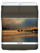Harris Riverfront Park Duvet Cover