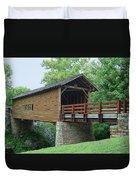 Harrisburg Covered Bridge Duvet Cover
