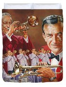 Harry James Trumpet Giant Duvet Cover
