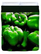 Hartville Peppers Duvet Cover