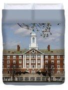 Harvard University Moors Hall Duvet Cover