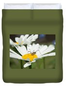 Harvastman On Daisy Looking For Food Duvet Cover