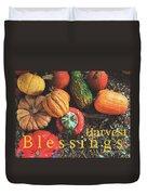 Harvest Blessings Duvet Cover