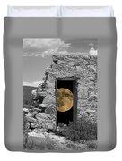 Harvest Moon Through The Magic Door Duvet Cover