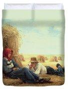 Harvest Time Duvet Cover by Julien Dupre