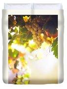 Harvest Time. Sunny Grapes I Duvet Cover