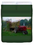 Harvest Time Tractor Duvet Cover