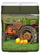 Harvest Tractor Duvet Cover