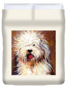 Harvey The Sheepdog Duvet Cover