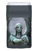 Haserot Weeping Angel Duvet Cover