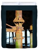 Hastings Pier Supports Duvet Cover