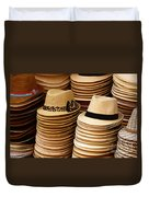 Hats For Sale Salvador Brazil Duvet Cover
