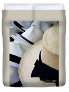 Hats Off To You Duvet Cover
