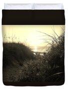 Hatteras Island Sunrise 12 8/28 Duvet Cover
