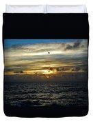 Hatteras Island Sunrise 2 9/10 Duvet Cover