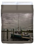 Hatteras Stormy Day 6/5 Duvet Cover