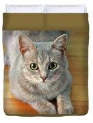 Hattie The Kitty Duvet Cover