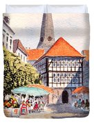 Hattingen Germany Duvet Cover