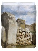 Hattusha The Hittite Capital Duvet Cover